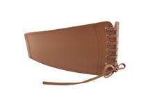 AFL7047 2 WOMENS BROWN LEATHER LEATHER