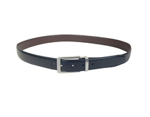 AF-177 Mens brown leather formal belt