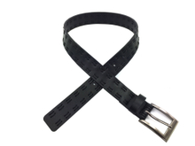 AF-051 Boys Black PU Casual Belt with Pin Buckle