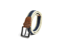 AF-232 Mens jeans braided belt with buckle