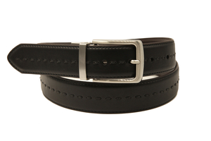 AFM7339 Men Colorful High Quality PU Belt with Stitching in The Middle