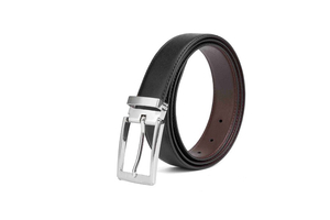 LA1006 Men Reversible Casual Fashion Fancy Leather Belt